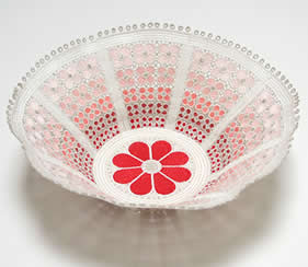 Lace combination bowl - Zundt Design, Ltd.