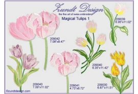 Magical Tulips 1Set