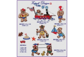 Beach Bears Set