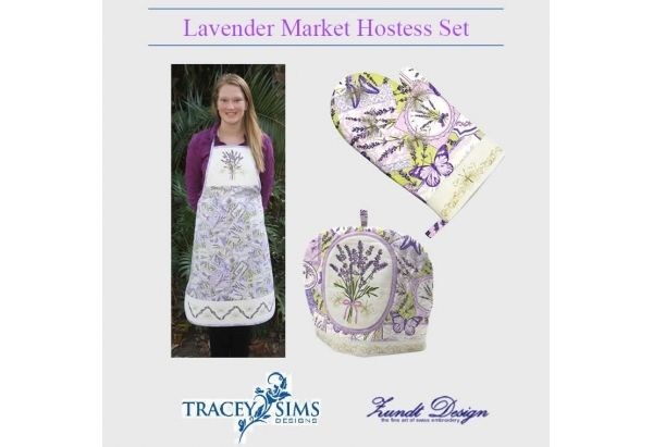 Lavender Market Hostess Set eBook