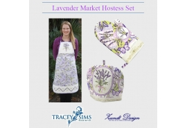 Lavender Market Hostess Set