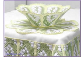 Lace Bowl Combination 9Set